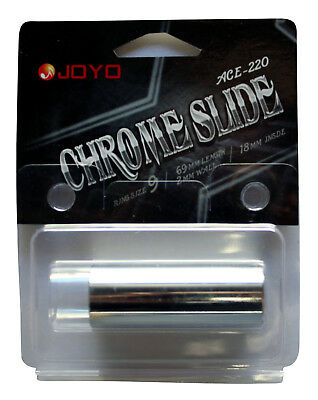 Joyo ACE220 Chrome Guitar Slide - New