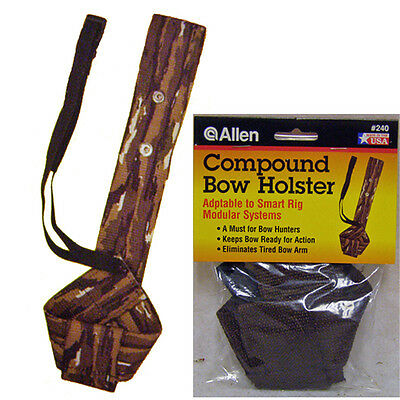 New Allen Brown Bow Holster,Compound Archery Belt Holder,Hunting Carry,240