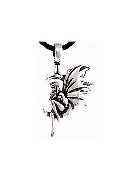 Solitary Fairy Amulet - Pewter