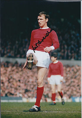 Paddy CRERAND Signed Autograph 12x8 Photo AFTAL COA Manchester United Genuine