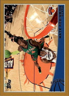 2009-10 Topps Gold #199 Nate Robinson /2009