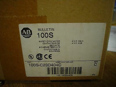 Factory sealed Allen-Bradley  100S-C23D404C Series C - 60 day warranty - nib