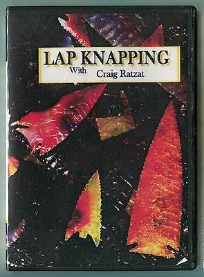 DVD316 Lap Knap DVD, Lapidary knapping, Flake over grind Craig Ratzat LEARN HOW