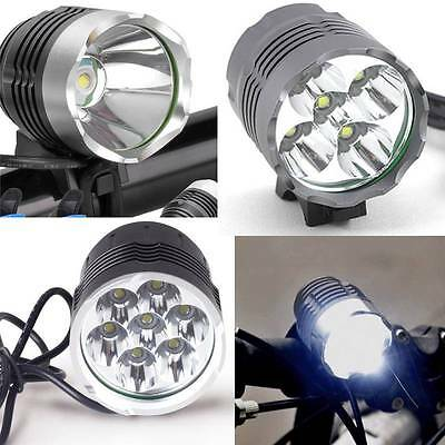 1-7 LED CREE XML T6 Bici LED Faro Lampada Frontale LED Bike Bicycle LED Headlamp