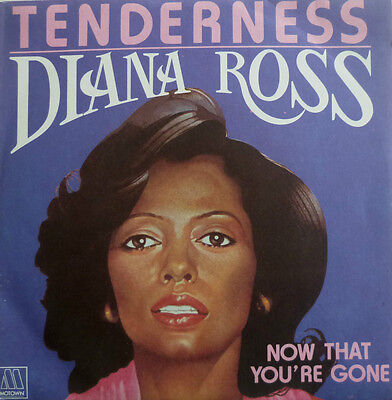 """7"""" 1980 FRENCH PRESS IN MINT- ! DIANA ROSS : Tenderness"""