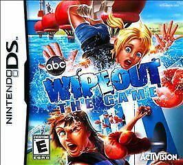 Wipeout Wipe Out The Game abc CARTRIDGE MINT Nintendo DS Game