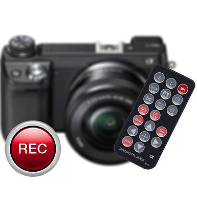 Remote Control for Sony ALPHA A9 A7 III II A7r A7s A6500 A6300 A6000 RMT-DSLR2