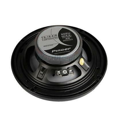 BRAND NEW 6.5-Inch 6-1/2 2-Way Car Audio Coaxial Speakers Stereo 400 Watt