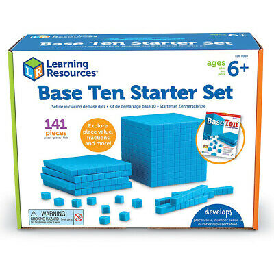 Learning Resources Plastic Base Ten Starter Set