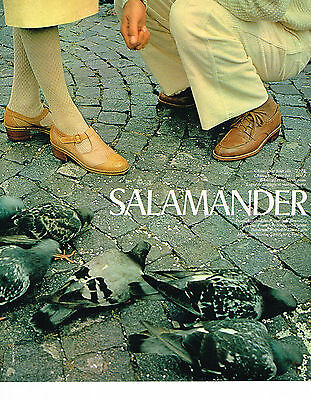 Collectibles Breweriana, Beer Publicite Advertising 044 1971 Salamander Chaussures Mixtes