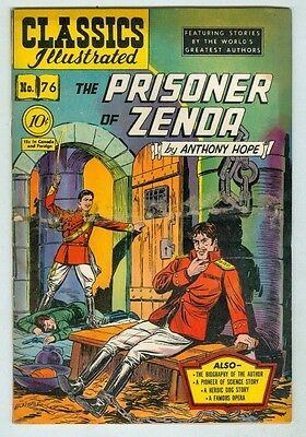 Classics Illustrated #76 October 1950 VG The Prisoner of Zenda 1st print
