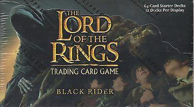 Lord of the Rings CCG Black Rider Starter Box Sealed