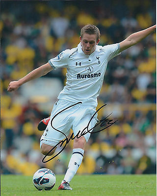 Gylfi SIGURDSSON SIGNED Autograph 10x8 Photo AFTAL COA Spurs Premier League