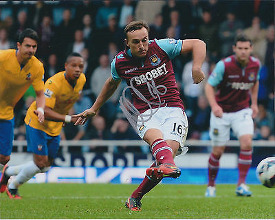 Mark NOBLE SIGNED COA Autograph 10x8 Photo AFTAL West Ham UNITED Authentic