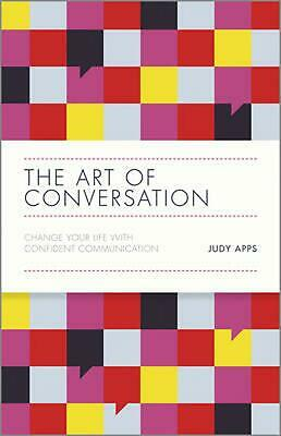 The Art of Conversation by Judy Apps Hardcover Book (English)
