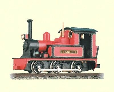 Peco GL-1 'Jeanette' 0-6-0T Side Tank Engine Whitemetal Body Kit '00-9' GaugeT48