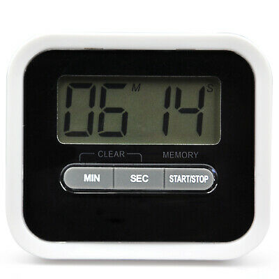 Digital Kitchen Timer Stopwatch Alarm Magnet Stand Exercise Beeper - By TRIXES