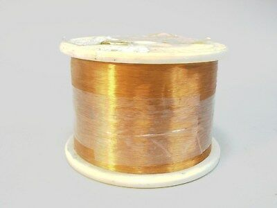 Sigmund Cohn Wire 36 AWG Enameled Copper 8 lbs Magnetic Coil Winding 3,800+ Ft