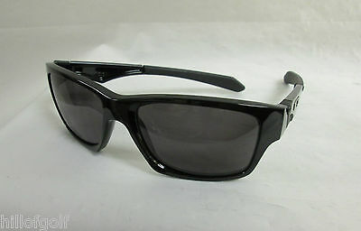 New Authentic Oakley Jupiter Squared Sunglasses Polished Black / Grey NEW IN BOX