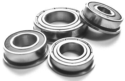Full Range [FR] Inch/Imperial SERIES FLANGED BEARINGS 2rs SEALED or zz SHIELDED