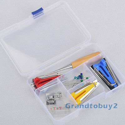 Bias Binding Tape Maker Awl Sewing Machine Feet For Sewing Quilting Binding