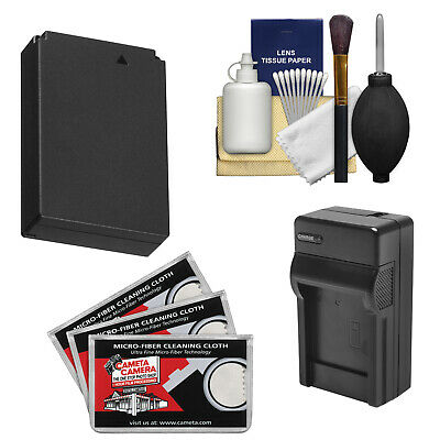 Essentials LP-E12 Battery/Charger Bundle for Canon Rebel SL1 & EOS-M DSLR Camera