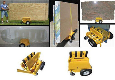 Sawtrax Panel Express Substrate Drywall Sheetrock Plywood Cart Dolly All-Terrain