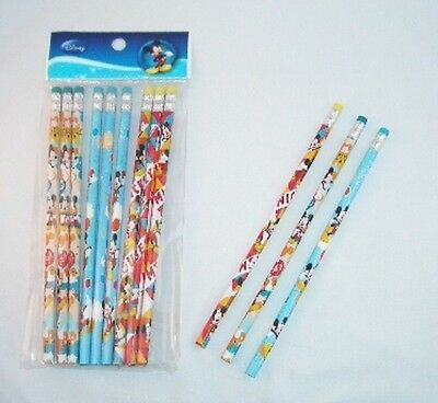 120 pcs Disney Mickey Mouse Wood Pencil Kids Party Gift School Stationery Supply