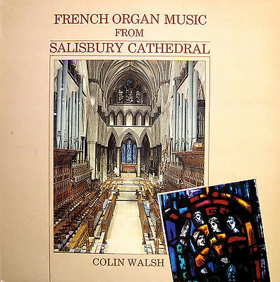 PRIORY PR 148 French Organ Music From Salisbury Cathedral [1984] NM/EX