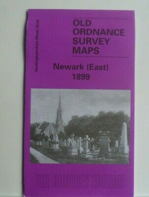 Old Ordnance Survey Maps Newark East  Nottinghamshire 1899 Godfrey Edition New