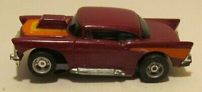 1990 TYCO HP7 /'57 Chevy Turquoise  Slot Car 6966 Rare!