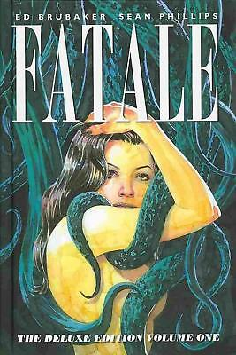 Fatale: Deluxe Edition, Volume 1 by Ed Brubaker Hardcover Book (English)