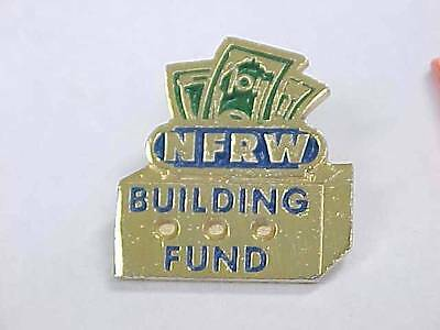 Vintage NFRW BUILDING FUND Political Pin National Federation of Republican Women