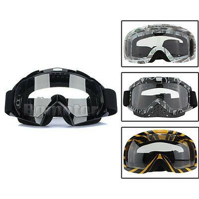 Motocross Scooter Dirt Bike Quad ATV MX Racing Helmet Goggles Glasse 4 Styles