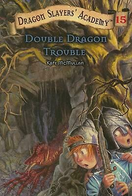 Double Dragon Trouble by Kate McMullan (English) Paperback Book Free Shipping!