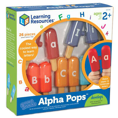 Learning Resources Smart Snacks Alpha Pops NEW
