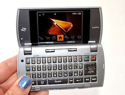 sanyo incognito scp 6760 boost mobile color cell phone qwerty keypad rh picclick com