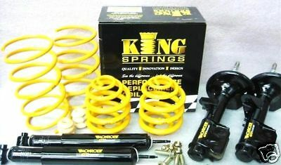 VK VL COMMODORE 70mm ULTRA LOW COIL SPRINGS & MONROE GT SPORTS SHOCK ABSORBERS