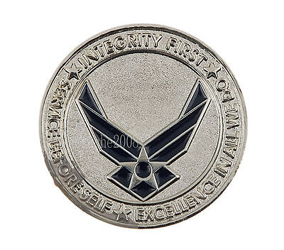 Us Basic Military Training Lackland Afb Challenge Coin-34019