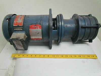 Ruthman MS4-3208-230V 1-1/2 HP 3450 RPM Vertical Multistage Gusher Coolant Pump