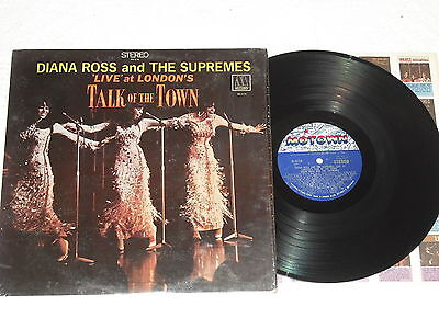DIANA ROSS & THE SUPREMES-Live At The Talk Of The Town (1968) MOTOWN LP