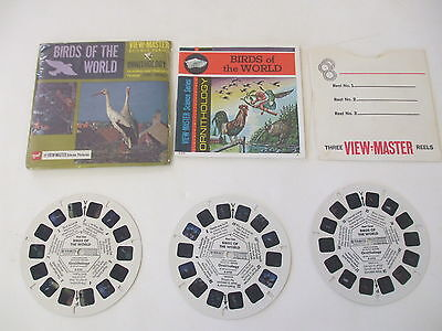 GAF -  VIEW - MASTER Packet, BRIDS OF THE WORLD #B678 with Sleeve