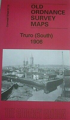 Old Ordnance Survey Maps Truro (South) Cornwall 1906  Godfrey Edition New