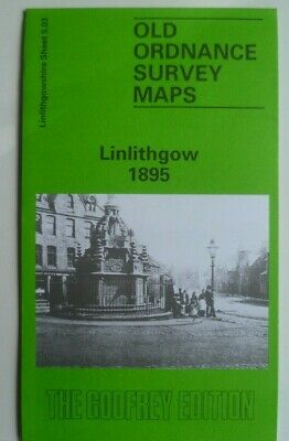 Old Ordnance Survey Map Linlithgow Scotland 1895 Sheet 5.03 Brand New