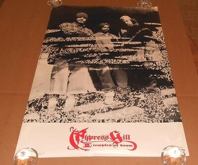 Cypress Hill III Temple of Boom 1996 Original Poster Funky 34x22