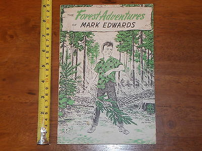 Rare Old Vintage Forst Adventures Of Mark Edwards 1962