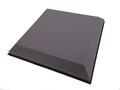 "Advanced Acoustics 6x 3"" Tegular Suspended Ceiling Tile Acoustic Treatment, Grey"