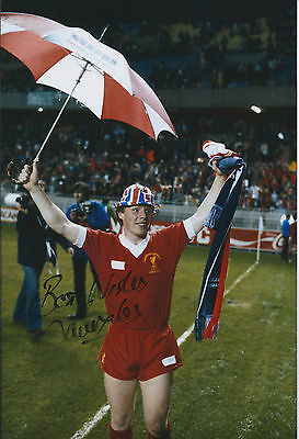 Sammy LEE Signed 12x8 Photo AFTAL COA Autograph Liverpool LEGEND Cup Winner RARE