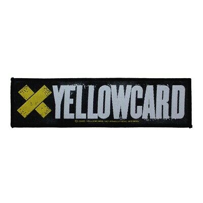 """Yellowcard"" Punk Band Logo Alternative Rock Merchandise Sew On Applique patch"