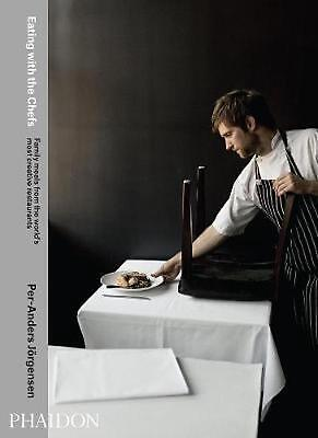 Eating with the Chefs by Tara Stevens Hardcover Book (English)